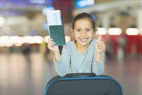 Datos de pasaporte para niños por Shutterstock